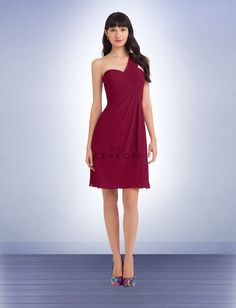 Cranberry Bridesmaid Dress Style 1102 - Bridesmaid Dresses by Bill Levkoff