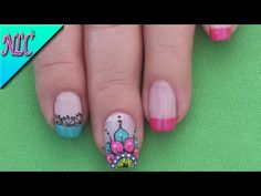 DECORACIÓN DE UÑAS CON ANIMALITOS - ANIMALS NAIL ART ♥ - YouTube Pedicure, Nail Art Designs, Nails, Beauty, Toe, Chocolate, Youtube, Summer, Toe Nail Art