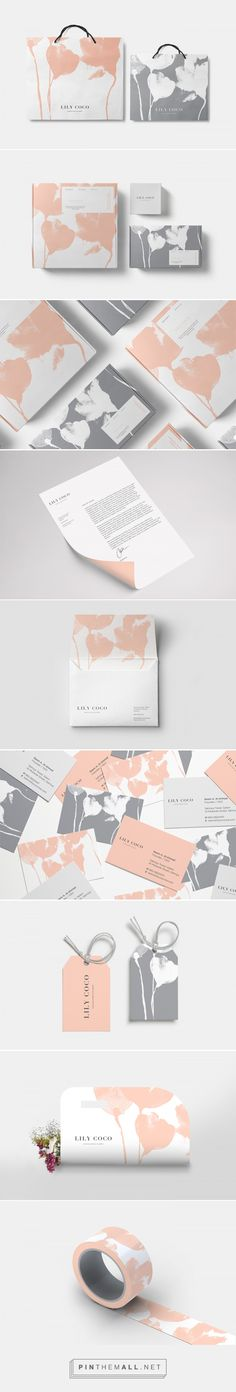 Lily Coco Chocolatier and Florist Branding and Packaging by Firas Said | Fivestar Branding Agency – Design and Branding Agency & Curated Inspiration Gallery #branding #packaging #design #designinspiration