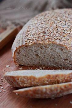 Chleb pszenny na zakwasie z platkami owsianymi1