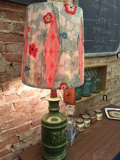 Beautiful lamps by dealer, Adourn