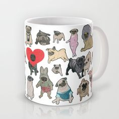 Pugs Mug Need to get this for my dad