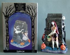 Disney Nightmare Before Christmas Cookie Jar. A real work of art and measures about 12 inches tall. An exclusive for only a handful of stores. Released in conjunction with the original movie release.