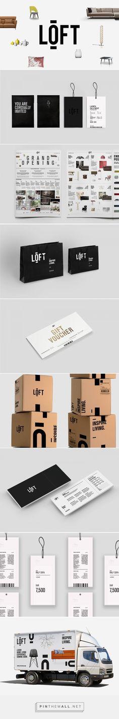 Loft on Behance | Fivestar Branding – Design and Branding Agency & Inspiration Gallery