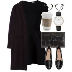 A fashion look from January 2016 featuring Opening Ceremony dresses, Zara coats and H&M loafers. Browse and shop related looks.