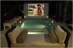 Private, Poolside Theater