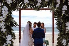 Destination Wedding em Punta Cana: Giovanna & Alexandre Punta Cana, Ems, Destination Wedding, Weddings, Wedding Dresses, Destination Weddings, Religious Ceremony, Wedding On The Beach, Traveling