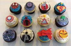 Avenger's Cupcakes