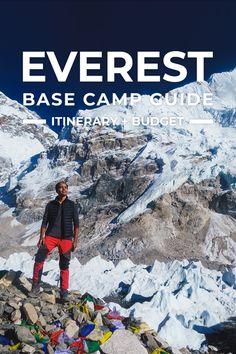 Mount Everest Base Camp, Everest Base Camp Trek, Travel Guides, Travel Tips, Travel Hacks, Travel Advice, Monte Everest, Hiking Places, Camping And Hiking