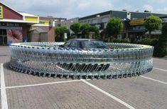 Shopping cart prank