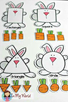 Spring Preschool Centers FREE Spring Preschool Centers Bunny and Carrots shape sorting activity Preschool Centers, Preschool Lessons, Preschool Learning, Preschool Crafts, Teaching, Activity Centers, Easter Activities, Spring Activities, Toddler Activities