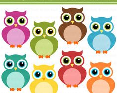Cute Owls Clip Art Set Personal and Commercial by StefNeffStudio Owl Clip Art, Owl Art, Teacher Appreciation Gifts, Teacher Gifts, Owl Classroom, Owl Pictures, Family Game Night, Cute Owl, Math Activities