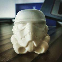 Awesome Stormtrooper Helmet Print by:@3dprintingsocool  #starwars #3dprinting #3dprint #starwarstheforceawakens #starwarsfan #kyloren #3dprinter #3d #rey #theforceawakens #hansolo #design #lukeskywalker #darthvader #r2d2 #finn #bb8 #chewbacca #3dprinted #princessleia #c3po #anakinskywalker #firstorder #tiefighter #stormtroopers #snowtroopers #rebelalliance #nerd by the3dprintclub