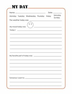 Daily journal template printable pages kids free templates weigh in travel specialization member function 5 . best free journal pages to print travel Summer Journal, Daily Journal, Therapy Worksheets, Therapy Activities, Kids Therapy, Cbt Worksheets, Counseling Worksheets, 2nd Grade Worksheets, Coping Skills