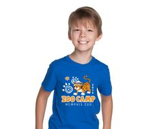 2014 Zoo Camp Shirt by Laura Horn for the Memphis Zoo.