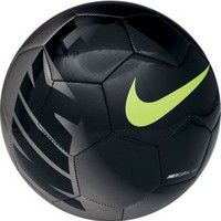 015afab164 Nike Mercurial Fade Soccer Ball - Black Silver Nike Soccer Shoes