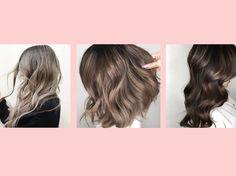 Aschbraun Haarfarbentrend