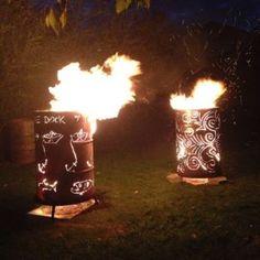 Feuertonne / Feuerfass in Stelle