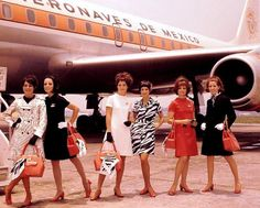 Aeronaves de Mexico/Aeroméxico early 1970's — with Sean Danielson.    www.facebook.com/VintageAirliners  www.vintageairliners.com