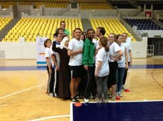 #GER_JOR youth practicing sport-based games as a tool for #Peace #GFP