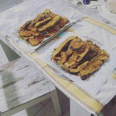 Doje frittur #ddojefritture #melenzane #melenzanefritte #cucinare #cucina