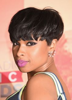 """For a fresh take on this shorter hairstyle, pump the volume up top. """"Ask your stylist for a strong bang to make it look heavier and more voluptuous,"""" says Max Gierl, senior stylist at Mizu New York Salon.      - Redbook.com"""