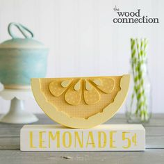 Wood D.I.Y. Lemonade Stand Craft For Summer