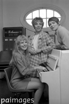 A new look for Anton Chekov's play, 'The Three Sisters', which is being revived at the Royal Court Theatre. The actresses are Marianne Faithfull, Avril Elgar (centre) and Glenda Jackson (right), 7th April 1967