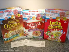 Free Dairy Queen and Orange Julius coupons when you buy specially-marked boxes of General Mills cereal. #LMDConnector #Coupons