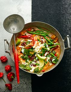 Caribbean vegetable curry | This recipe from Debbie Major really packs a punch! And it's guaranteed to warm you up on a cold evening!