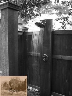 Outdoor Shower - traditional - pool - new york - by Summerset Gardens/Joe Weuste