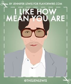 Happy V - Day to all the ex-boyfriend of my life : Illustrated Wes Anderson Valentine's Day Cards