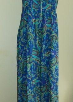 Kup mój przedmiot na #vintedpl http://www.vinted.pl/damska-odziez/dlugie-sukienki/6114621-sukienka-dluga-maxi-w-kolorowe-wzory-marksspencer-44-46