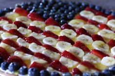 flag fruit pizza - made this last year and lost the recipe but found it again! everyone eats this up super fast!