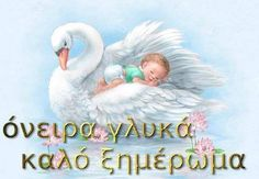 [​IMG] Greek Beauty, Good Night Image, Sweet Dreams, Babys, Letters, Facebook, Animals, Greek, Good Night
