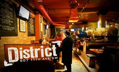District Gastropub in Calgary - where foodies love to drink! Feature Film, Calgary, The Magicians, Save Yourself, Foodies, Playing Cards, Deck, Industrial, Culture