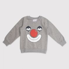 Mini Rodini Clown SP Sweatshirt - Lilla Mode