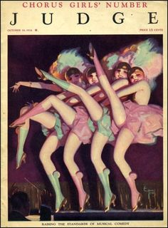Judge Magazine, October 1924. By Enoch Bolles. #vintage