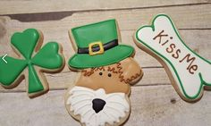 St Patricks Day Wire Hair Fox Terrier https://www.facebook.com/sweetcharleyconfections