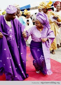 Nigerian Wedding Colors: Aso-Oke Color Matching Ideas For Traditional Engagement Ceremony