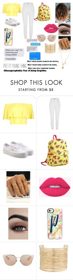 """Modern Peggy Schuyler💛"" by xx-bearcub-xx ❤ liked on Polyvore featuring Boohoo, River Island, Vans, JWorld, Casetify, Christian Dior, Eloquii and modern"