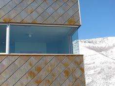 steel scales, corner windows