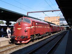NOHAB Diesel locomotive from EMD F7 series in Denmark