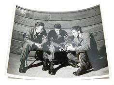 Items similar to Original Artistic WWII Photograph - US Signal Corps x Group Photo - World War 2 Photo Camera Interesting Unique on Etsy Group Photos, 2 Photos, World War, Wwii, 1940s, Vintage Items, Photograph, The Originals, Unique
