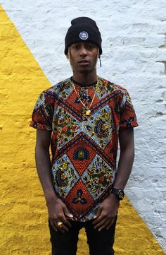 African Print Shirt Men's JEKKAH