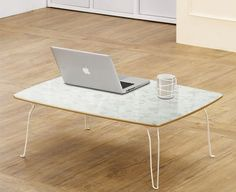 Rose Floor Table Folding Low Coffee Tea Laptop Computer Desk