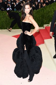 Bella Hadid Has Never Been Shy on the Red Carpet Photos   W Magazine