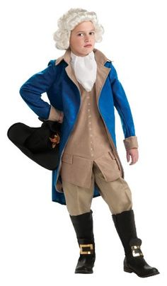 Thomas Jefferson Costumes for Kids | WebNuggetz.com  Perfect for Presidents Day plays and parades
