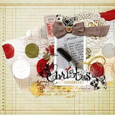 Scrapbooking Your Pre-Christmas Activities - Scrapbooking ideas & free tutorials at Get It Scrapped