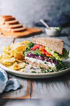 Rainbow Veggie Sandwich – HonestlyYUM